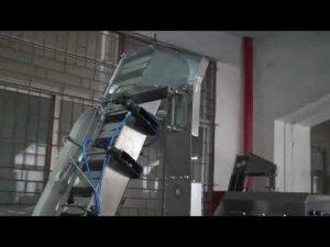 volautomatische servo roterende flesafsluitmachine voor kunststof schroefdop