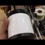 huisdier glazen pot aluminium blikje en fles sticker etiketteermachine