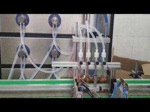auto 10ml 30ml 60ml 100ml fles cosmetische vulmachine voor vloeistoffen