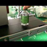 desktop sticker etiketteermachine voor plastic flessen water