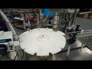 hete verkoop volautomatische 10ml 20ml 25ml reageerbuisjes vulling capping verpakkingsmachine