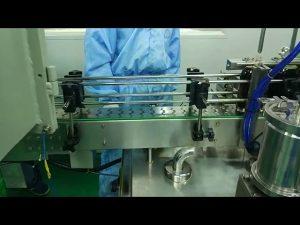 Dubbele vul- en schroefmachine van 30 ml tot 100 ml voor ronde fles