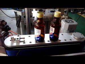 zelfklevende sticker automatische ronde fles etiketteermachine