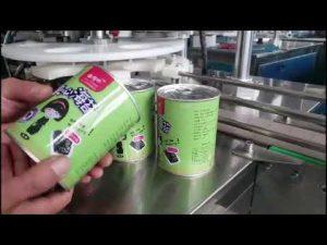 volautomatische cosmetische vloeibare fles vulmachine met capper