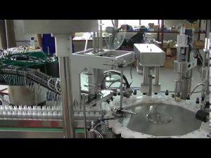 roterende plaat model kleine trigger pomp cap capping machine te koop
