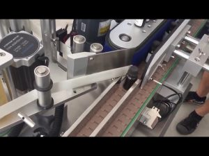 3000 bph automatische verticale flesjes flessen sticker etiketteermachine