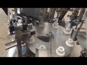 automatische zachte plastic pasta, zalf, tandpasta, tube vulmachine