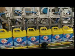 automatische 8 koppen wasmiddel shampoo fles vulmachine