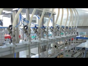 desinfecterende vloeibare handzeep alcohol fles vulmachine