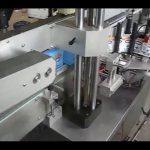 automatische dubbelzijdige flessticker etiketteringsmachine voor ronde fles