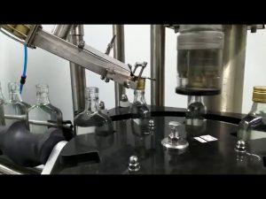 wijnfles schroefdop machine