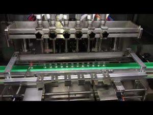automatische alcohol desinfecterende gel vulmachine voor de dagelijkse chemische industrie