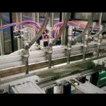 automatische zuiger lineaire wasmiddel, shampoo, smeerolie viskeuze vloeistof bottelmachine