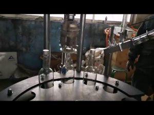 commerciële automatische aluminium ropp cap afdek- en sluitmachine