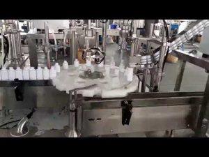 cosmetica medische plastic fles vulmachine