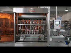 volautomatische tomatensaus servo vulmachine