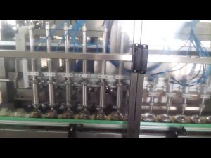 automatische glazen honingpot yoghurt vullen sluitmachine