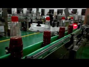 hoge snelheid volautomatische flesvulmachine voor ketchup, jam, saus