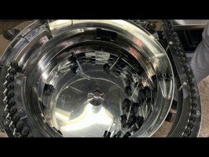 mechanische hand type cbd flesvullen en capping machine