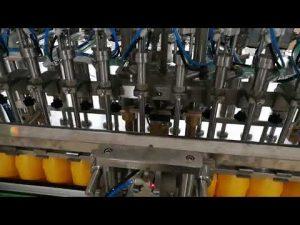 12 koppen automatische fles vulmachine voor ketchup oliën saus cosmetica