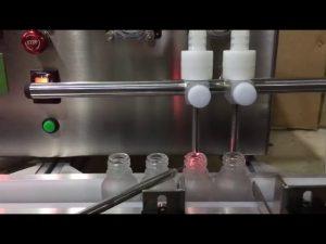 mini size bench top automatische kleine flacon etherische olie vloeistof vulmachine te koop