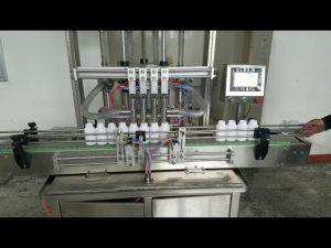 automatische viskeuze vloeibare pasta fles vulmachine voor vloeibare zeep, bodylotion, shampoo