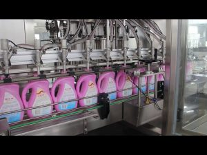 automatische eetbare olie, olijfolie, wasmiddel fles shampoo fles vulmachine