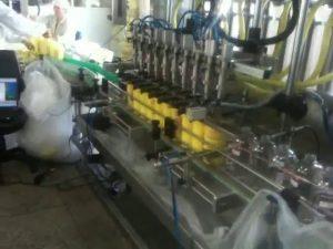 automatische piston duiksproeiers shampoo vulmachine