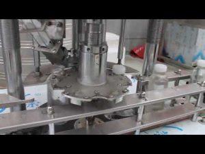 automatische enkele kop plastic fles roterende afdekmachine