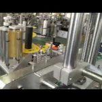 automatische plastic en glazen fles pot zelfklevende sticker etiketteermachine