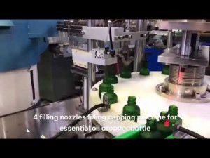 druppelflesje etherische olie cbd olie vulmachine