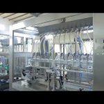 fabriek automatische lineaire viskeuze vloeibare eetbare olie fles pot vulmachine