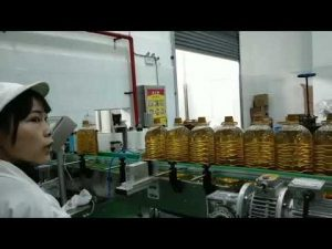 smering mobil motor hydraulische auto pomp olie fles vullen productielijn machine