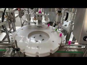 automatische elektronische sigaretvloeistof, cbd olievulling pluggen aftopping etiketteermachine